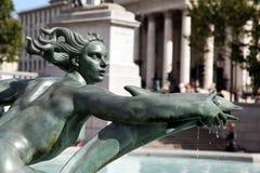 Statua a Londra Fotografia Stock
