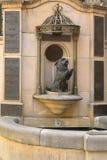 Statua mały pies królowej Wiktoria ulubiony zwierzę domowe, Skye Obraz Royalty Free