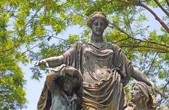 Statua, Madrid Immagini Stock
