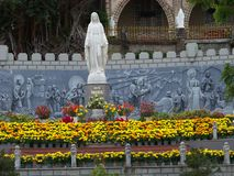 statua maria Immagine Stock
