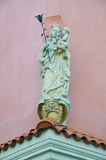 Statua Mary Jezus Święty dziecko i poznan Obraz Royalty Free