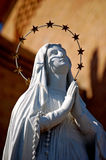 Statua Mary ono Modli się God-1 Zdjęcie Royalty Free