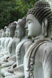 Statua Meditating del Buddha Fotografie Stock Libere da Diritti