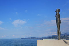 Statua miłość Ali i Nino Fotografia Stock