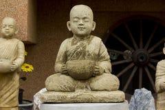 Statua michaelita medytować zdjęcia stock