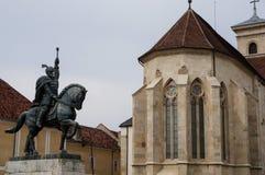 Statua Mihai Odważny Zdjęcie Royalty Free
