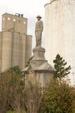 Statua, molla, grano, torri Fotografia Stock Libera da Diritti