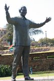 Statua molto alta 1 del Sudafrica Mandela Fotografia Stock