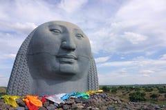 Statua mongola fotografie stock libere da diritti