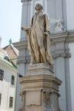 Statua muzyk Franz Joseph Haydn Wiedeń Zdjęcia Royalty Free