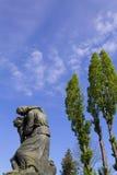 Statua na Mirogoj cmentarzu Fotografia Royalty Free
