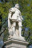 Statua na urzędu miasta kwadracie blisko Burgtheater w Wiedeń Zdjęcia Stock