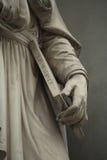 Statua na zewnątrz Uffizi. Florencja, Włochy Obraz Stock