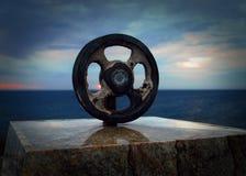 Statua nautica a Noumea Immagine Stock