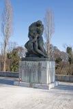 Statua nel cimitero di Mirogoj a Zagabria, Croazia Immagini Stock Libere da Diritti