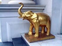 Statua nel grande palazzo, Bangkok, Tailandia, Asia dell'elefante Fotografia Stock