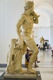 Statua nel museo archeologico nazionale di Napoli fotografie stock