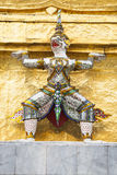Statua nel palazzo reale, Bangkok Fotografia Stock Libera da Diritti