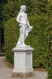 Statua nel parco fotografia stock libera da diritti