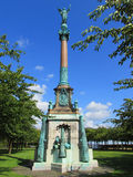 Statua nel parco di Amaliehaven, Copenhaghen, Danimarca fotografia stock libera da diritti