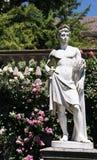 Statua nel roseto sull'isola/Germania di Mainau immagine stock libera da diritti