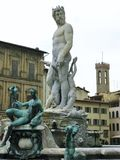 Statua Neptune Fotografia Stock