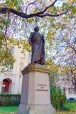 Statua Niemiecki filozof Schelling 1861 Friedrich Brugg Fotografia Royalty Free