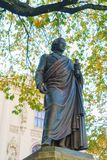 Statua Niemiecki filozof Schelling 1861 Friedrich Brugg Zdjęcia Royalty Free