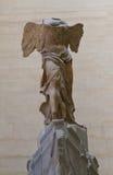 Statua Nike w Louvre muzeum Zdjęcia Stock