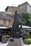 Statua Nostradamus Obrazy Royalty Free