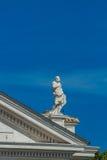 Statua od świętego P? eteru kwadrat w Watykan Zdjęcie Stock