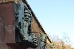 Statua od pomnika w Mont-Valérien zdjęcie stock
