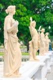 Statua a PA di colpo in palazzo Fotografie Stock