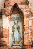 Statua a PA di colpo in palazzo fotografie stock libere da diritti