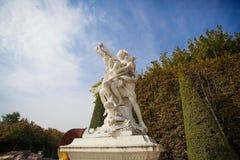 Statua in palazzo di Versailles Fotografia Stock Libera da Diritti