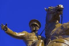 Statua Panaroma di Ataturk in Kars fotografie stock