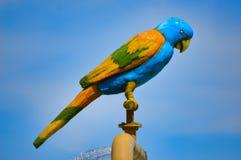 statua papuga Zdjęcia Stock