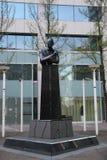 Statua Pim Fortuyn w Rotterdam holandie, polityk mordujący w 2002 obrazy royalty free