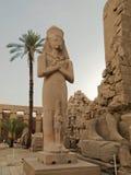 Statua Pinedyem Ja w Karnak Świątyni Obrazy Royalty Free