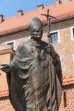 Statua Pope John Paul II Fotografia Royalty Free