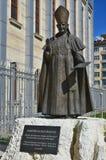 Statua Pope John XXIII Zdjęcie Stock