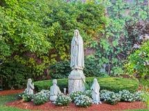 Statua pregante religiosa Immagini Stock