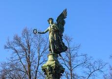 Statua przy Charlottenburg kasztelem w Berlin Fotografia Royalty Free