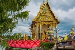 Statua przy Dużym Buddha terenem zdjęcia stock