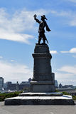 Statua przy national gallery Kanada, Ottawa, Kanada zdjęcia stock