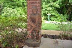 Statua przy Tipton okręgu administracyjnego muzeum, Covington Tennessee Obrazy Stock