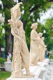 Statua przy uderzenia Pa W pałac Zdjęcie Royalty Free