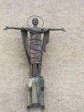 Statua przy wejściem Bodo katedra Zdjęcia Royalty Free