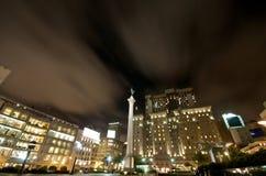 Statua quadrata San Francisco del sindacato Fotografie Stock