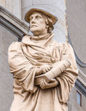 Statua reformator Martin Luther obrazy stock